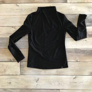 Oiselle Lux Pullover, Heathered Black, Size 8, EUC